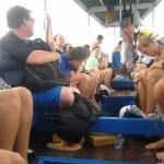 Snorkeling bareng bule