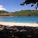 Pantai Mawun yang birunya keterlaluan